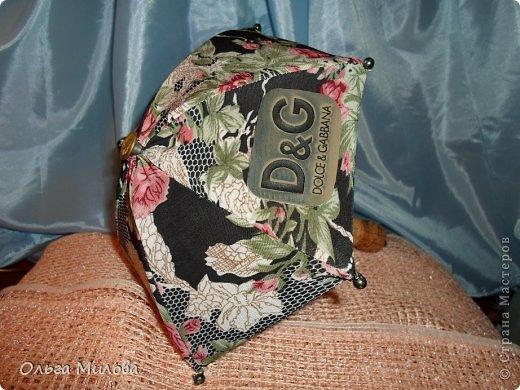 """Моя новая работа... Зонт """"Dolce&Gabbana"""" фото 2"""