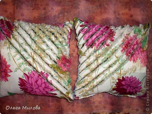 """Сегодня я хочу предложить вам сшить подушечку в технике """"синель"""" фото 14"""