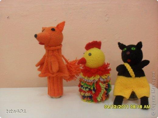 Вязание крючком - Кукольный театр-3.