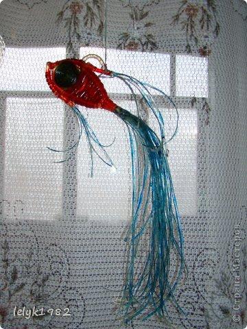 Игрушка Поделка изделие Плетение Поделки из капельниц фото 1.