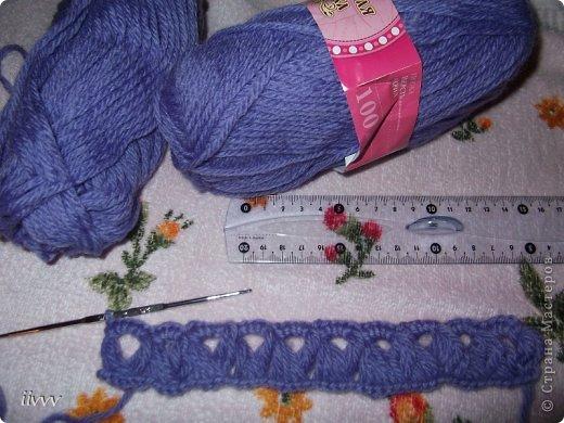 Берет и шарф ярко фиолетовые, фотоаппарат не передаёт яркость. Думала за нехваткой времени пропустить очередной презент, но не смогла удержаться. фото 2