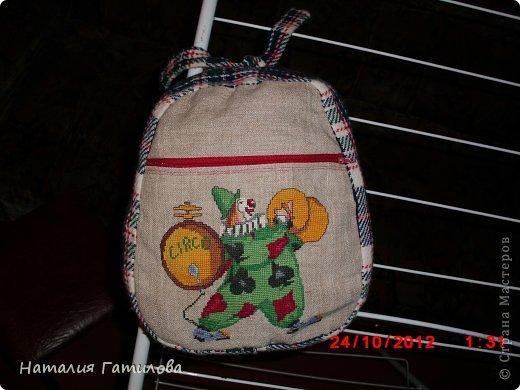 Как-то давно шила и вышивала сыну в детский сад такой вот мешочек для пижамки. фото 1