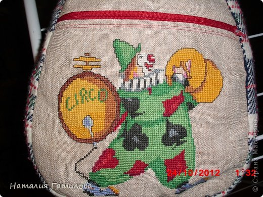 Как-то давно шила и вышивала сыну в детский сад такой вот мешочек для пижамки. фото 6