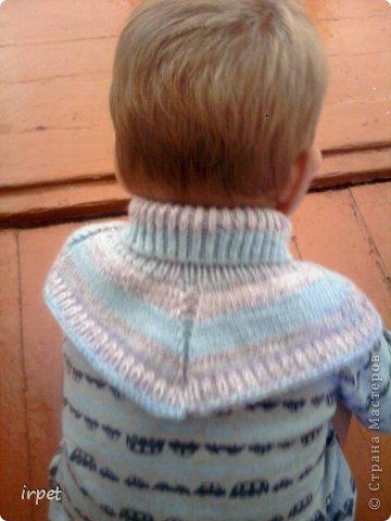 Гардероб Вязание спицами Утепляемся Манишки детям Пряжа фото 3