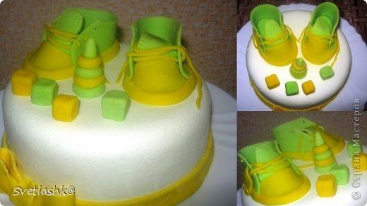 Кулинария Свит-дизайн День рождения Лепка Детские тортики Продукты пищевые фото 3