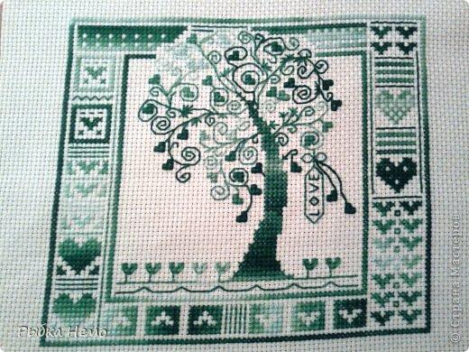 Вышивка крестом Дерево