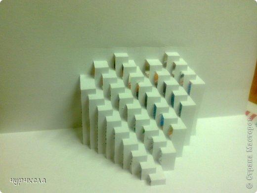 Киригами pop-up открытка