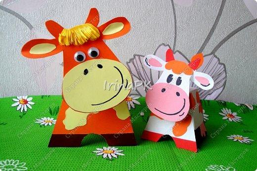 Поделка корова своими руками