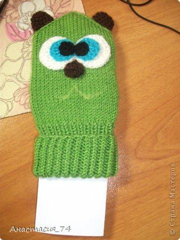 И так представляю вашему вниманию МК по вязанию вот такого забавного котика на зиму.  фото 9
