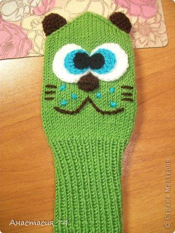И так представляю вашему вниманию МК по вязанию вот такого забавного котика на зиму.  фото 10