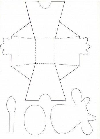 """Вот таких Буренок делали по теме """"Домашние животные"""". Этих симпатяг подсмотрела в книге """"Игрушки из картона и шариков"""", авторы: Мария-Регина Альтмайер, Михаэль Альтмайер и Вернер Шульце. фото 14"""