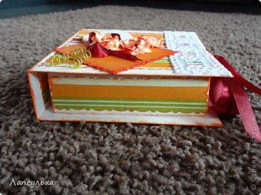 Представляю вам свою вторую по счету коробочку! Та-дам!!! фото 3