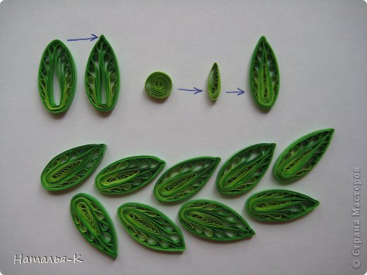 Как сделать листики красивые