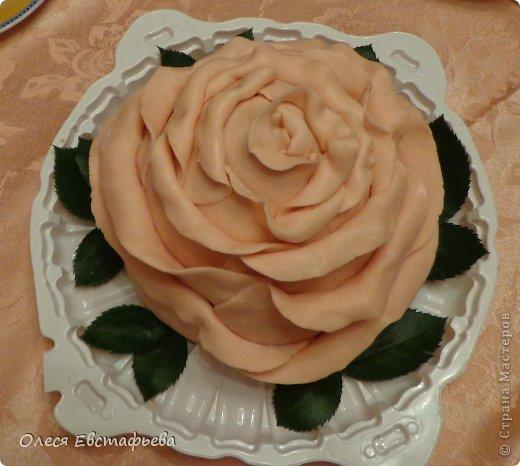 Торт роза страна мастеров