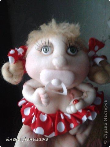 куколка за пару часов из того что осталось ) фото 1