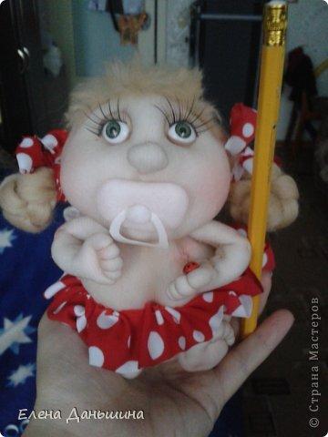 куколка за пару часов из того что осталось ) фото 3