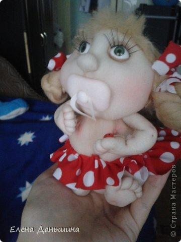 куколка за пару часов из того что осталось ) фото 4