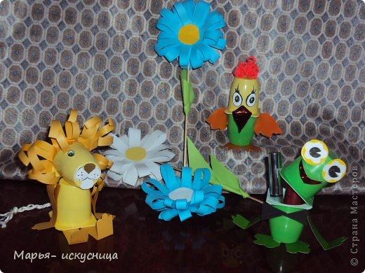 Поделки для детского сада из бросового материала фото для