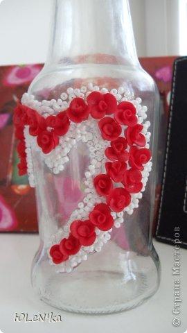 Декор предметов Лепка Мини-ваза Бисер Клей Пластика фото 2.