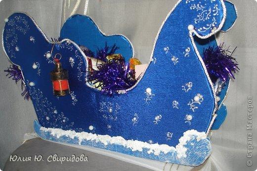 Дед мороз шкатулка своими руками