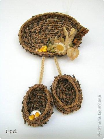 Работы выполнены в технике плетение сосновой иглой, как это делается - рассказать не могу, т.к. секрет))) Приятного просмотра!!! фото 15