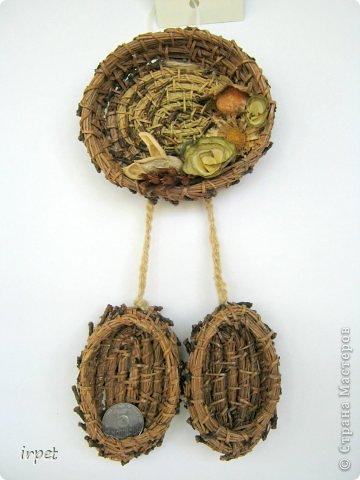 Работы выполнены в технике плетение сосновой иглой, как это делается - рассказать не могу, т.к. секрет))) Приятного просмотра!!! фото 19
