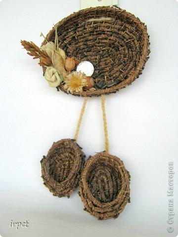 Работы выполнены в технике плетение сосновой иглой, как это делается - рассказать не могу, т.к. секрет))) Приятного просмотра!!! фото 24