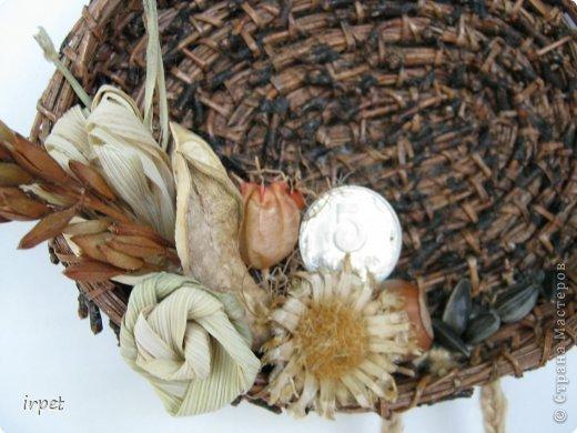 Работы выполнены в технике плетение сосновой иглой, как это делается - рассказать не могу, т.к. секрет))) Приятного просмотра!!! фото 25