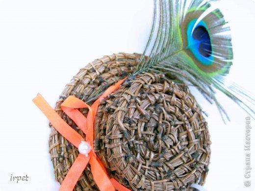 Работы выполнены в технике плетение сосновой иглой, как это делается - рассказать не могу, т.к. секрет))) Приятного просмотра!!! фото 26