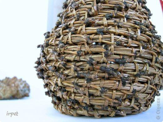 Работы выполнены в технике плетение сосновой иглой, как это делается - рассказать не могу, т.к. секрет))) Приятного просмотра!!! фото 38