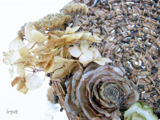 Работы выполнены в технике плетение сосновой иглой, как это делается - рассказать не могу, т.к. секрет))) Приятного просмотра!!! фото 46