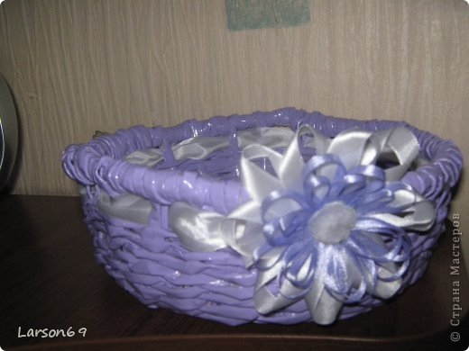 Трубочки из глянцевого журнала, покраска- эмаль+ колер.  фото 1