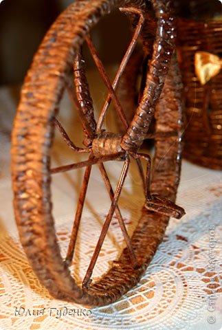 Рада всех приветствовать на моей страничке! До сей поры была равнодушна к плетёнкам, коих на сайте огромное количество, велосипедов тоже не счесть. фото 9