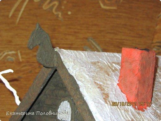 Мастер-класс Поделка изделие Новый год Рождество Бисероплетение Папье-маше Печать губкой Роспись Поделка в детский сад Бисер Бумага Вата Гуашь Картон Клей Коробки Материал природный Пластилин фото 10