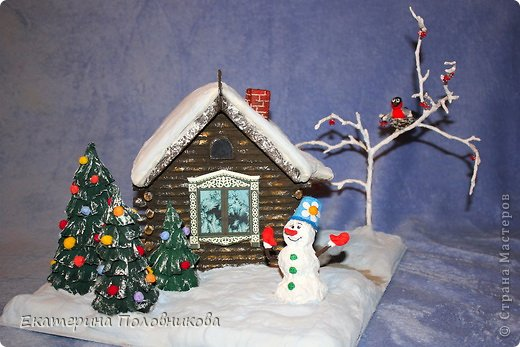 Эту поделку мы с дочкой сделали в садик. Большое спасибо Акварели за идею и вдохновение http://stranamasterov.ru/node/277918 фото 12
