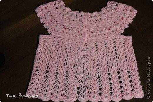 Гардероб Мастер-класс Вязание крючком розовая кофточка- мечта Нитки фото 14
