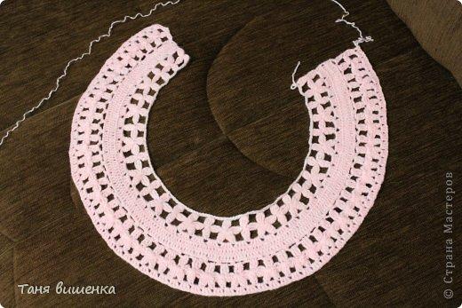 Гардероб Мастер-класс Вязание крючком розовая кофточка- мечта Нитки фото 7