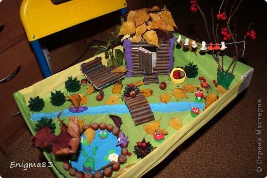 Детские поделки на тему лес для детского сада