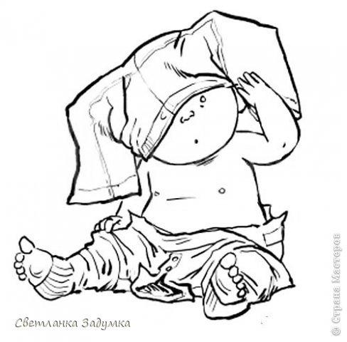 Попросили сотворить что-нибудь для поздравления с новорожденным))) по краю пустила пуговички, отколов от них дырочки (лошадки и ножки). Решила попробовать отрисовку в первый раз, закрасила обычными карнадшами фото 3