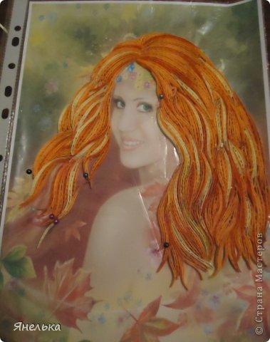 Всем доброго времени суток! Думаю многим знакома эта работа Алены Лазаревой, меня же она просто очаровала и я решила воплотить её в квиллинге. Вот, что у меня получилось фото 4
