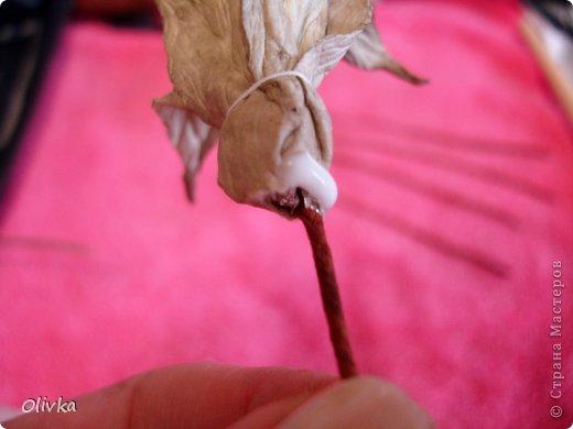 Будем делать вот такую веточку для украшения:) Я ею украсила уже готовую плетенку. фото 47