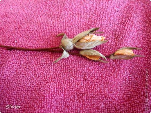 Будем делать вот такую веточку для украшения:) Я ею украсила уже готовую плетенку. фото 88