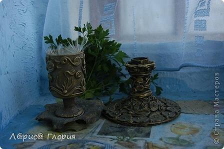 Декор предметов Лепка Бронзовый декор Гипс Фарфор холодный фото 9