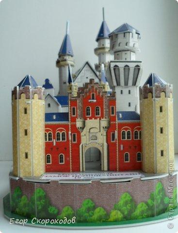 Поделка замок