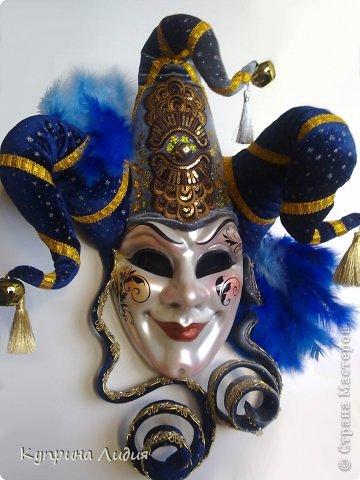 Венецианские маски как сделать папье маше