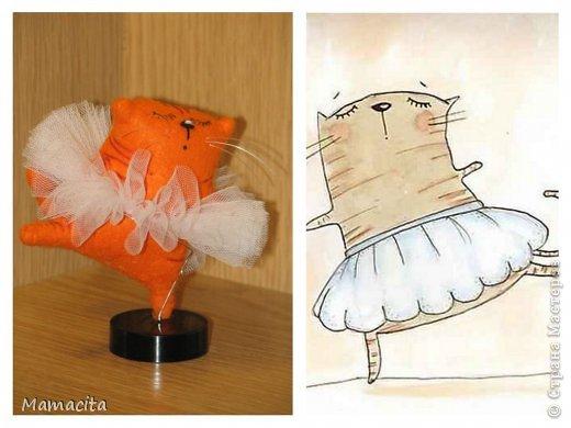 Здравствуйте, дорогие жители Страны! Сегодня я к вам с размышлениями о мечте... Все мы мечтаем…  У кого-то мечты дерзкие и смелые, у кого-то робкие и скромные…  Сегодня сшилась у меня кошка Морковка.  Она смелая, уверенная в себе и очень мечтательная. И так я прониклась ее мечтой, что решила ей помочь, сшив для нее балетную пачку. Теперь ее мечта сбылась - она балерина!!!  Австрийская писательница, Баронесса Мария фон Эбнер-Эшенбах как-то сказала: «Не жалуйся, что твои мечты не сбылись, заслуживает жалости лишь тот, кто никогда не мечтал»!   Так давайте же смелее мечтать, и пусть наши мечты сбываются! фото 2
