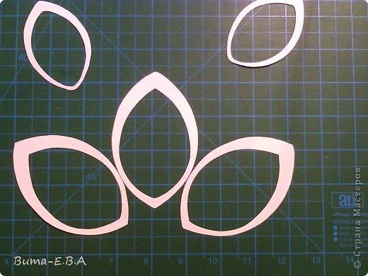 Мастер-класс Открытка Валентинов день День матери День рождения Свадьба Вырезание Киригами pop-up И еще один цветок  и его МК Бумага Картон Клей Скотч фото 9