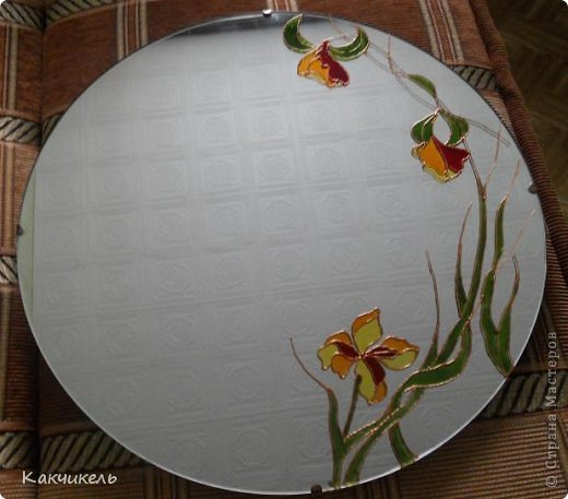Декор предметов Витраж Зеркало