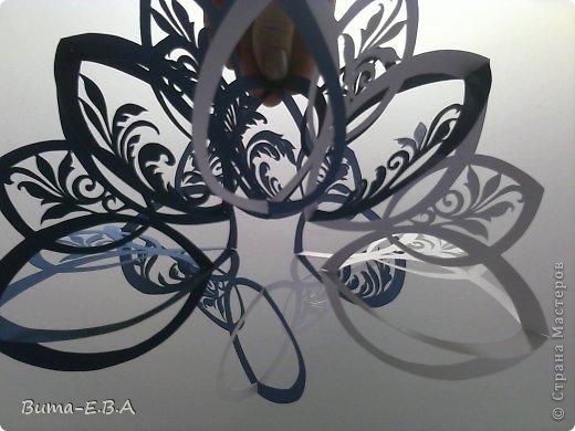 Мастер-класс Открытка Валентинов день День матери День рождения Свадьба Вырезание Киригами pop-up И еще один цветок  и его МК Бумага Картон Клей Скотч фото 35