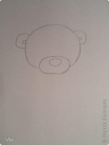 Приветик всем:) Сегодня я расскажу как красиво и правильно нарисовать мишку тедди.А так же как правильно его разукрасить.Возьмите только бумагу,карандаш и ластик.Начинаем рисовать... фото 2